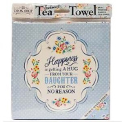 History & Heraldry Tea Towel Happiness Is.. For No Reason Cook Shop 0020