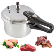 3l Litre Cooking Pressure Cooker Aluminium Kitchen Catering Home Cookware