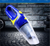 QI Car Vacuum Cleaner Strong Suction High-Power Car Vacuum Cleaner Wet And Dry , Blue , 400*115*115Mm,blue,400*115*115mm