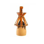 SZ & LAM Creative Pastoral Wall Lamp with Bamboo Handmade for Living Room Hotel Cafe Decoration Lighting