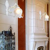 cdblchandelier European Style Antique Rural Light Living Room Bedroom Aisle Lights Study Bedroom Bedside Wall Lamp chandelier