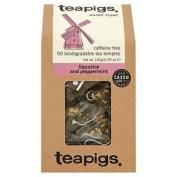 Teapigs Liquorice And Peppermint 50 Biodegradable Tea Temples 150g