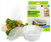 Fresh Microwave Steamer Baby Bpa Free Food Phthalate Safe First Steps