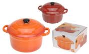 Ceramic 300ml Oven Safe Lidded Casserole Baking Tapas Serving Dish Bowl