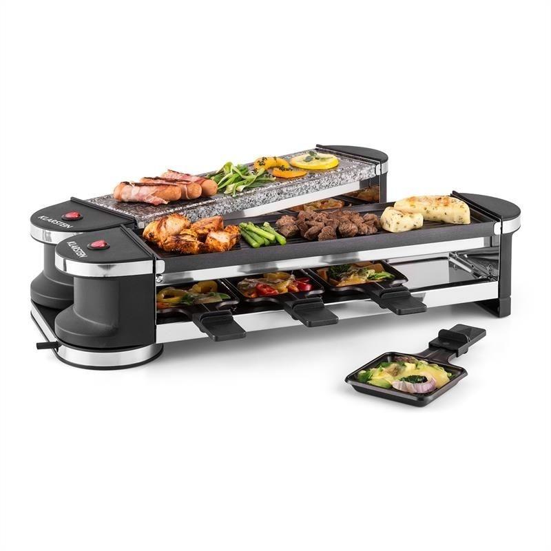 Raclette Grill Australia klarstein tenderloin 50 50 raclette grill 1200w 8 persons