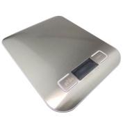 Xuheng 5kg X 0ml Slim Stainless Steel Digital Scale Electronic Diet Food Box