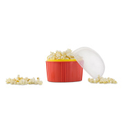 Jml Poppin' Corn Quick & Easy Microwave Popcorn Maker Double-walled 'cool-touch'