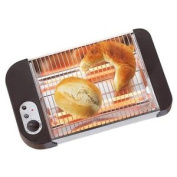 600w Flat Table Top Bread Croissant Bagel Rolls Baguette Panini Toaster With And