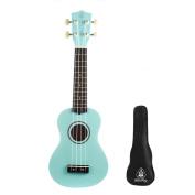 Honsing Uke New Basswood Soprano Ukulele Hawaii Guitar 50cm Gift for Friend Children