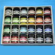 Nikki paints, poster colour 24 colour set 40 ml (plastic container) is Norwegian