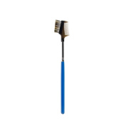Skyflying Makeup Brow & Lash Comb/ Groomer- Remove Mascara Clumps,Professional Beauty Cosmetic Tool For and Travel