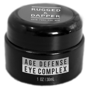 RUGGED & DAPPER - Eye Cream for Men - 30ml - Powerful Anti Ageing Gel Complex - Combats Wrinkles, Dark Circles & Visible Fatigue - Advanced Natural & Organic Ingredients Revives & Defends Entire Face