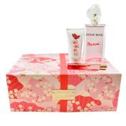 Hanae 3 Pc Gift Set ( Eau De Parfum Spray 100ml + Roller Ball 10ml+ Body Cream 50ml ) for Women