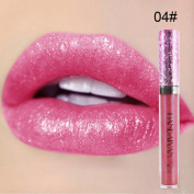 Lip Plumper,Aritone Waterproof Long Lasting Liquid Velvet Matte Lipstick Makeup Lip Gloss