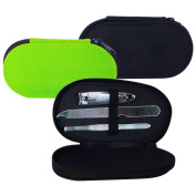 Manicure Set Compact Size Perfect Companion for Amenity Kit or Toiletry Bag