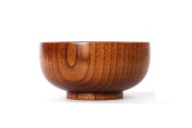 Justfund Wooden Shaving Soap Bowl Shave Cream Cup Cleaning Mug