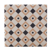 Maxwell & Williams Medina Ceramic Square Coaster Zagora 9cm