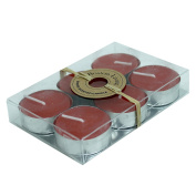 Boston Living Scented Tealight Candle Rustic Red 6 Pack