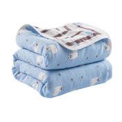 Cotton Baby Blankets Summer Quilt for Toddlers 110 X 110 CM - A11