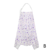 MALLCAS Baby Breastfeeding Cover Mum Cotton Nursing Udder Apron Shawl Cloth