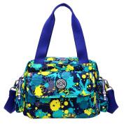 Large Capacity Baby Nappy Bag Wearable Nappy Changing Pad Travel Mummy Bag Adjustable Tote Waterproof Handbag Camouflage