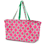 Zodaca All Purpose Large Utility Bag, Graphic Pink