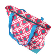 Zodaca Large All Purpose Travel Tote Bag, Pink Graphic