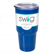 Occasionally Made O-SW-30-RY Swig Tumbler, 890ml, Royal Blue