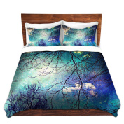 DiaNoche Designs Night Sky Cover, 6 Twin Duvet Sham Set