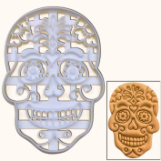 Floral Skull cookie cutter, 1 pc, Ideal for Day of the Dead, Calavera and All Souls' Day party