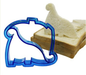 Lunch Kids Sandwich /Toast/ Cookies/ Bread/ Biscuit Cutter Dinosaur Crust Mould DIY Tool