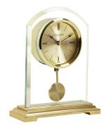 London Clock - Gold Arch Pendulum Mantel Clock