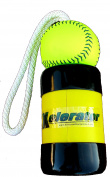 The Mini Xelerator 10u Fastpitch Softball Pitching Training Aid And Warm Up Tool With 28cm Premium Leather Indoor Ball For Improved Grip