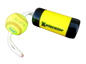 The Ultimate Xelerator Fastpitch Softball Pitching Training Aid And Warm Up Tool With 30cm Premium Leather Indoor Ball For Improved Grip