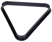 RoseSummer 8 Ball Pool Billiard Table Rack Tool Triangle Standard Size Black Plastic