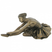 Dying Swan Bronze Ballet Figurine Sculpture Ballerina