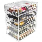 Sorbus Cosmetics Makeup and Jewellery Big Storage Case Display - Stylish Vanity, Bathroom Case