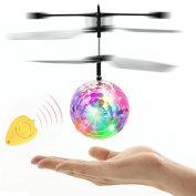Sinwo LED Lights RC Ball RC Toy Infrared Induction Mini Aircraft Flashing Light Remote Toys For Kids Gift Teenagers Gift
