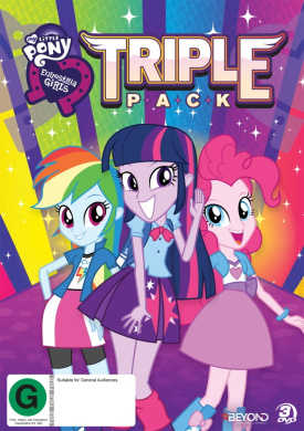 My Little Pony: Equestria Girls - Triple Pack (Rainbow Rocks / Friendship Games / Legend of Everfree)