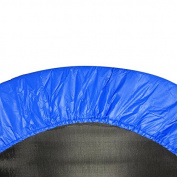 Heavy Duty Safety Pad (Spring Cover) for 100cm Trampoline, Upper Bounce - Blue