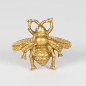 Metallic Gold Bee Antique Style Cupboard Drawer Knob Door Handle