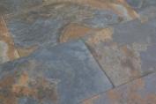 Sample Of Bengal Slate Effect Porcelain Tiles 30x60cm