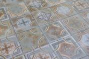 Sample Of Comillas Patchwork Floor Tiles 20x20cm