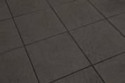Sample Of Pietre Di Keope Basalto Black Floor Tiles 30x30cm