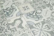 Sample Of Parisian Chic Decor Mix Floor Tile 20x20cm