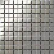 Polished Silver Stainless Steel Kitchen Bathroom Shower Mosaic Wall Tiles Mt0130