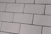 Sample Of Crackle Glaze Grey Gloss Vintage Wall Tiles 7.5x15cm