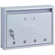 Home Design Hdm-910 Classic Designer High Grade Stainless Steel Mailbox