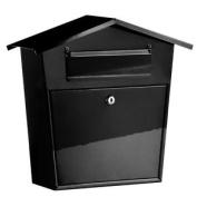 Bonsoni Galvanised Metal Indoor/outdoor Use Mail Box By Protege Homeware
