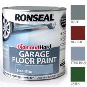 Ronseal 2.5l Diamond Hard Garage Floor Paint Tough Stone Concrete Protection